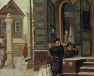 В снежки — Михаил Нестеров