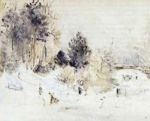Snowy Landscape (aka Frost) — Берта Моризо