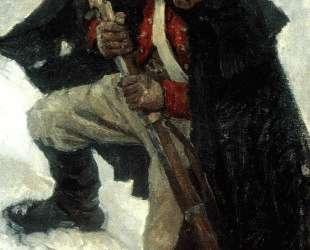Солдат с ружьем — Василий Суриков
