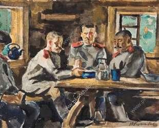 Солдаты — Пётр Кончаловский
