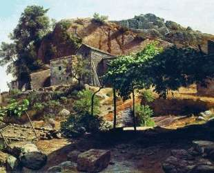 Southern landscape — Лев Лагорио
