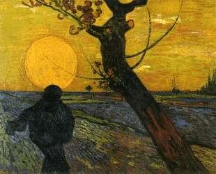 Sower with Setting Sun — Винсент Ван Гог