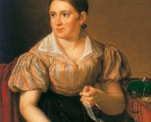 Дама за прошивками — Василий Тропинин