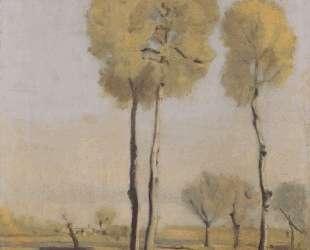 Spanish landscape — Фердинанд Ходлер