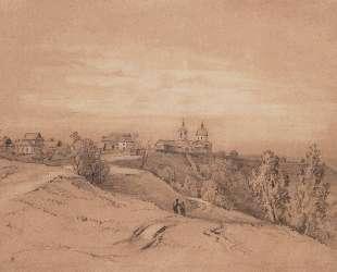Воробьевы горы близ Москвы — Алексей Саврасов