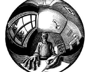Spherical Self Portrait — Мауриц Корнелис Эшер
