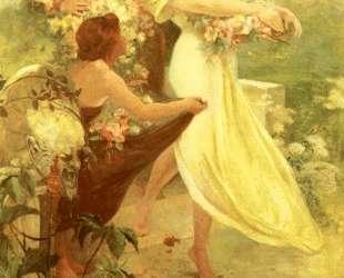 Spirit Of Spring — Альфонс Муха