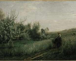 Весна — Шарль-Франсуа Добиньи