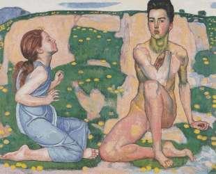Spring — Фердинанд Ходлер