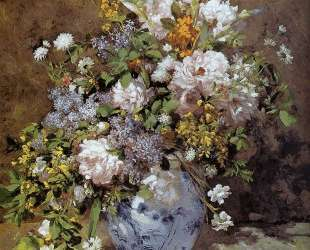Spring Bouquet — Пьер Огюст Ренуар