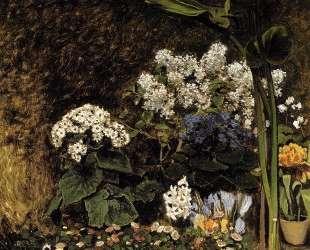 Весенние цветы — Клод Моне