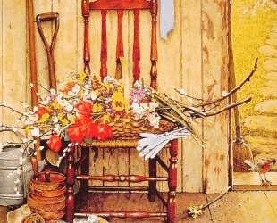 Spring Flowers — Норман Роквелл