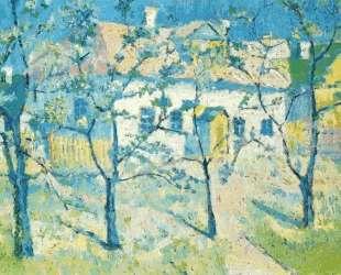 Spring Garden in Blossom — Казимир Малевич