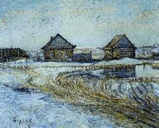 Весна в деревне — Давид Бурлюк