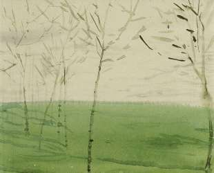 Весенний пейзаж — Константин Сомов