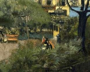 Square Berlioz (La Place Vintimille) — Эдуар Вюйар