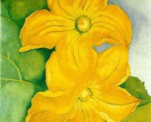 Squash Blossoms I — Джорджия О'Киф