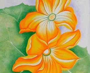 Squash Blossoms — Джорджия О'Киф