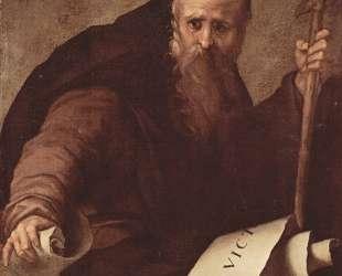 St. Anthony Abbot — Джакопо Понтормо