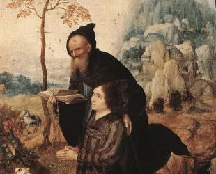 St. Anthony with a Donor — Мабюз
