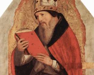 Святой Августин — Антонелло да Мессина