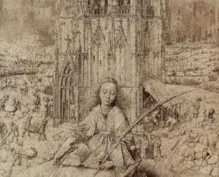 Св. Варвара — Ян ван Эйк