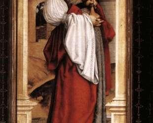 St. Barbara — Ганс Гольбейн Младший