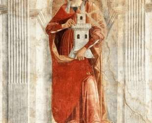 St. Barbara — Доменико Гирландайо