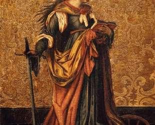St. Catherine Of Alexandria — Конрад Виц