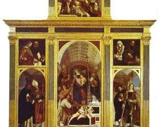 St. Dominic Polyptych — Лоренцо Лотто
