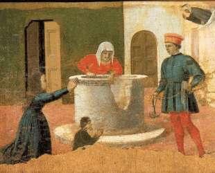 Св. Елизавета спасает мальчика — Пьеро делла Франческа