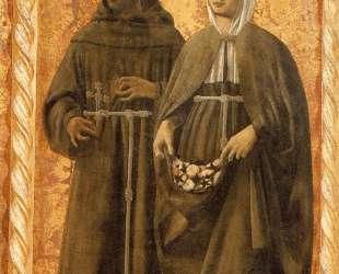 Св. Франциск и Св. Елизавета — Пьеро делла Франческа
