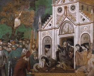 St. Francis Mourned by St. Clare — Джотто