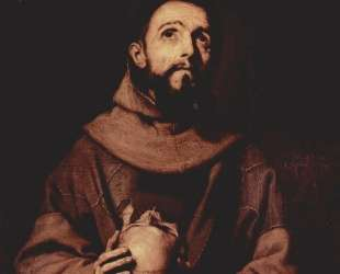 St. Francis of Assisi — Хосе де Рибера