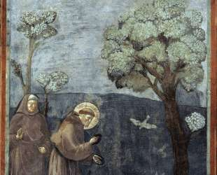 St. Francis Preaching to the Birds — Джотто