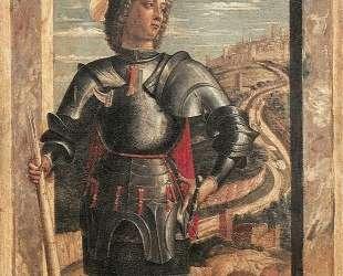 St. George — Андреа Мантенья