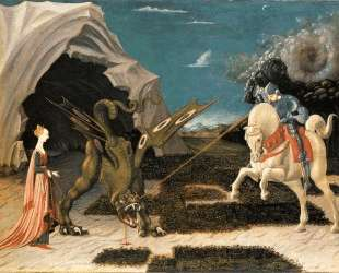 St. George and the Dragon — Рафаэль Санти