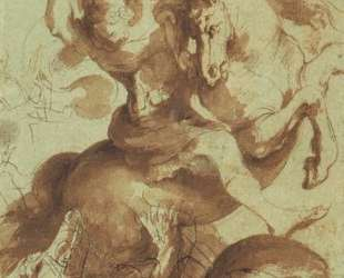 St. George Slaying the Dragon — Питер Пауль Рубенс