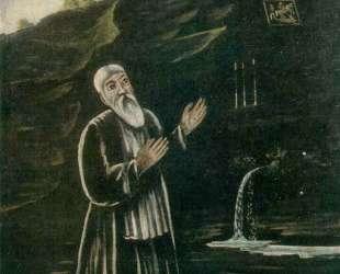 Святой Георгий Анахорет — Нико Пиросмани