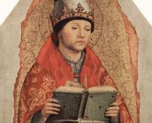 Григорий Великий — Антонелло да Мессина