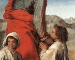 St. James with Two Children — Андреа дель Сарто