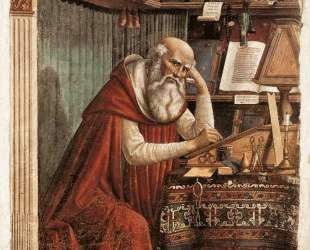 St. Jerome — Доменико Гирландайо