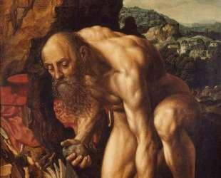 St. Jerome — Ян ван Хемессен
