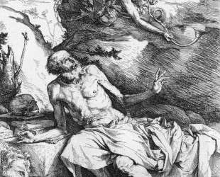 St. Jerome and the Angel — Хосе де Рибера