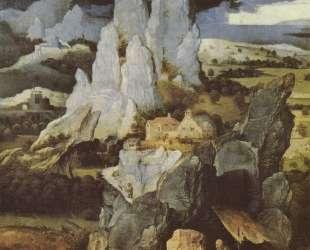 St. Jerome in Rocky Landscape — Иоахим Патинир