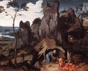 St. Jerome in the Desert — Иоахим Патинир