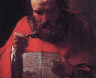 St. Jerome Reading — Жорж де Латур