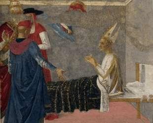 Св. Иероним воскрешает епископа Андрея — Пьетро Перуджино