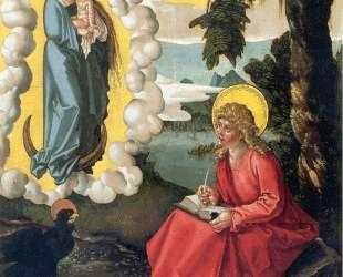 Святой Иоанн на острове Патмос — Ханс Бальдунг