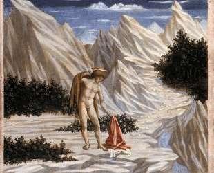 St. John in the Desert — Доменико Венециано